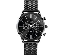 -Uhren Analog Quarz One Size Edelstahl 87344444