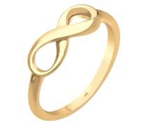 Ring Basic Infinity Unendlichkeit 925 Sterling Silber Ringe