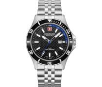 -Uhren Analog Quarz Schwarz/Rot 32011592