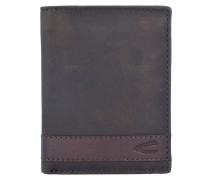 Taipeh Geldbörse RFID Leder 9 cm Portemonnaies Braun
