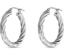 -Creolen 925er Silber rhodiniert One Size 87776689