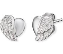 -Ohrstecker 925er Silber Farbstein One Size 88054628