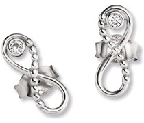 Cai-Ohrstecker 925er Silber Zirkonia One Size 87070409