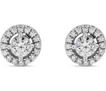 -Ohrstecker 925er Silber rhodiniert 34 Zirkonia One Size 87776492