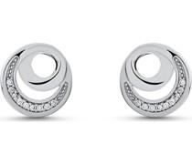Silver-Ohrstecker DOT 925er Silber 18 Zirkonia One Size 87745406