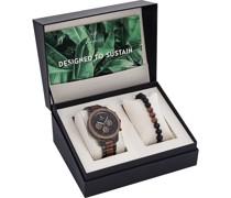-Uhren-Sets Analog Quarz One Size 87943712