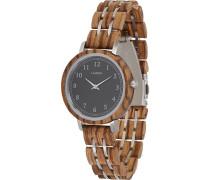 -Uhren Analog Quarz One Size Holz 88139151