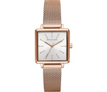 -Uhren Analog Quarz Rosé 32010696