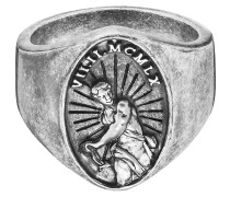 -Herrenring Antique century 925er Silber 58 32011500