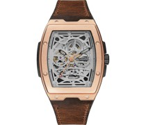 -Uhren Analog Automatik Silber 32018102