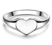 Ring Herz Sterling Silber Silberring