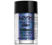 2.5 g Violet Face & Body Glitter Lidschatten