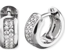 -Creolen 925er Silber 38 Zirkonia One Size 88054989