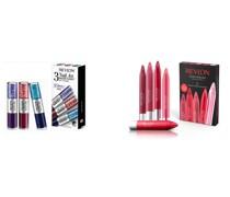 Geschenkset bestehend aus Glitter Nagellack und Lippenstifte