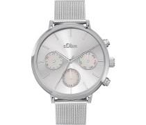 -Uhren Analog Quarz Roségold 32015189