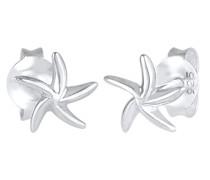 Ohrringe Seestern Meer Maritim Strand Filigran 925 Silber