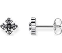 -Ohrstecker 925er Silber 2 Zirkonia One Size 87560341