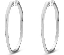 Silver-Creolen 925er Silber One Size 85713477