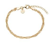 Armband für, Sterling Silber 925 vergoldet