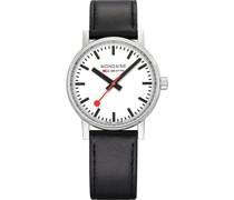 Unisex-Uhren Analog Quarz Silber 32015964