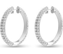 -Creolen 925er Silber 288 Zirkonia One Size 88161076