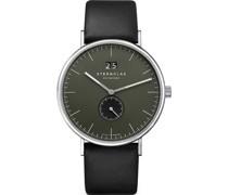 -Uhren Analog Quarz Weiß Leder 32014064