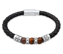 Armband Leder Bead Magnet-Verschluß 925er Silber