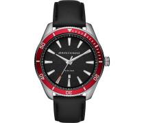 -Uhren Analog Quarz One Size Leder 87971015