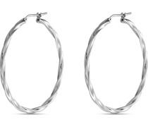 -Creolen 925er Silber rhodiniert One Size 87776701