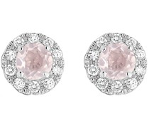 -Ohrstecker 375er Weißgold 20 Diamant One Size 87321002