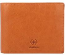 Blackwall Geldbörse RFID Leder 12 cm Portemonnaies Braun