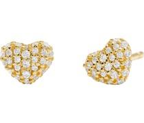 -Ohrstecker 925er Silber Gold 32003321