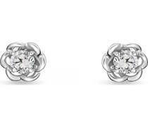 -Ohrstecker 375er Weißgold Diamant One Size 32011943