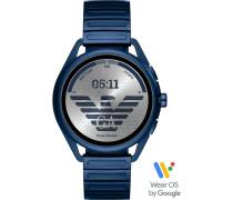 Armani Connected-Smartwatch Akku One Size Edelstahl 87922383