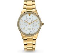-Uhren Analog Quarz Silber 32013686