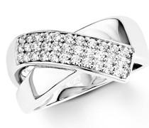Ring für, Sterling Silber 925, Zirkonia Ringe