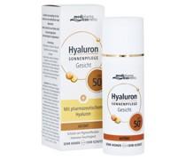 Hyaluron Sonnenpflege Gesicht LSF 50+ getönt