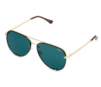 High Key Rimless Sonnenbrille