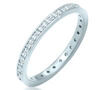 Ring Aufsteckring Diamant 0.14 ct. 585 Weißgold