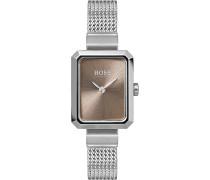 Boss-Uhren Analog Quarz One Size Edelstahl 87565661