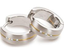 Boccia-Creolen Titan Silber/Roségold 32013892