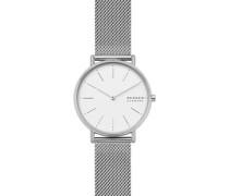 -Uhren Analog Quarz Silber 32001572