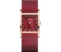 -Uhren Analog Quarz Silber 32017003