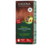 Pulver 030 Naturrot Haarfarbe 100g