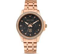 -Uhren Analog Quarz Gold 32013685