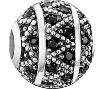 -Bead 925er Silber Zirkonia One Size 86378418