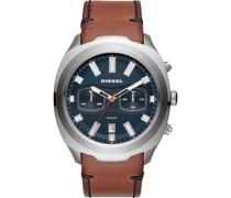 -Uhren Analog Quarz One Size Leder 87675971