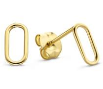 Le Marais Ohrringe - 585 Gold / 14 Karat