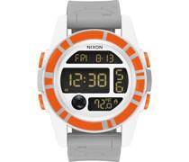 Unisex-Uhren Digital Quarz One Size Kautschuk 87064662