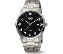 Boccia-Uhren Analog Quarz One Size 88010019